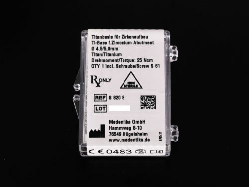 Medentika Desntsply AstraTech Compatible TX Ti Base Ø 4.5-5.0mm REF: S820